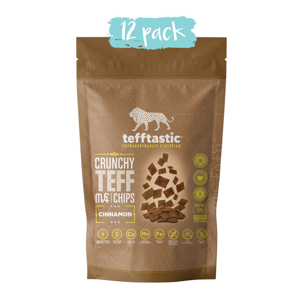 Tefftastic Cinnamon Chips 12 pack