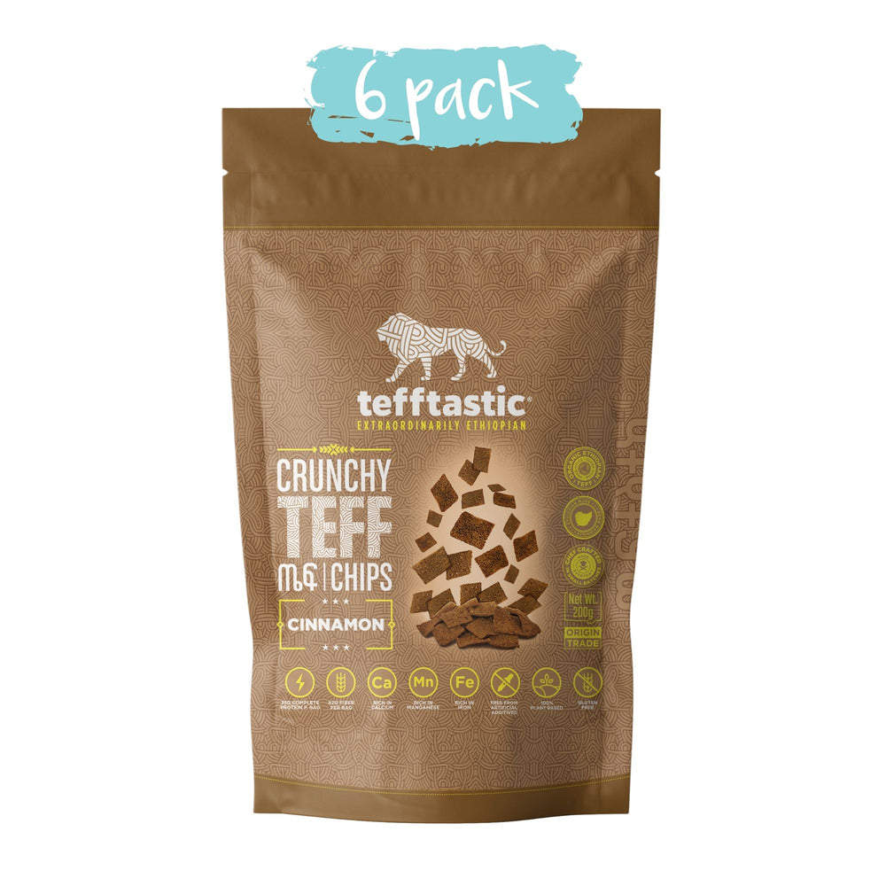 Tefftastic Cinnamon Chips 6 pack