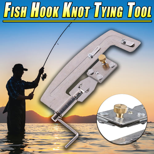 Fish Hook Knot Tying Tool