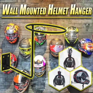 Wall Mounted Helmet Hanger
