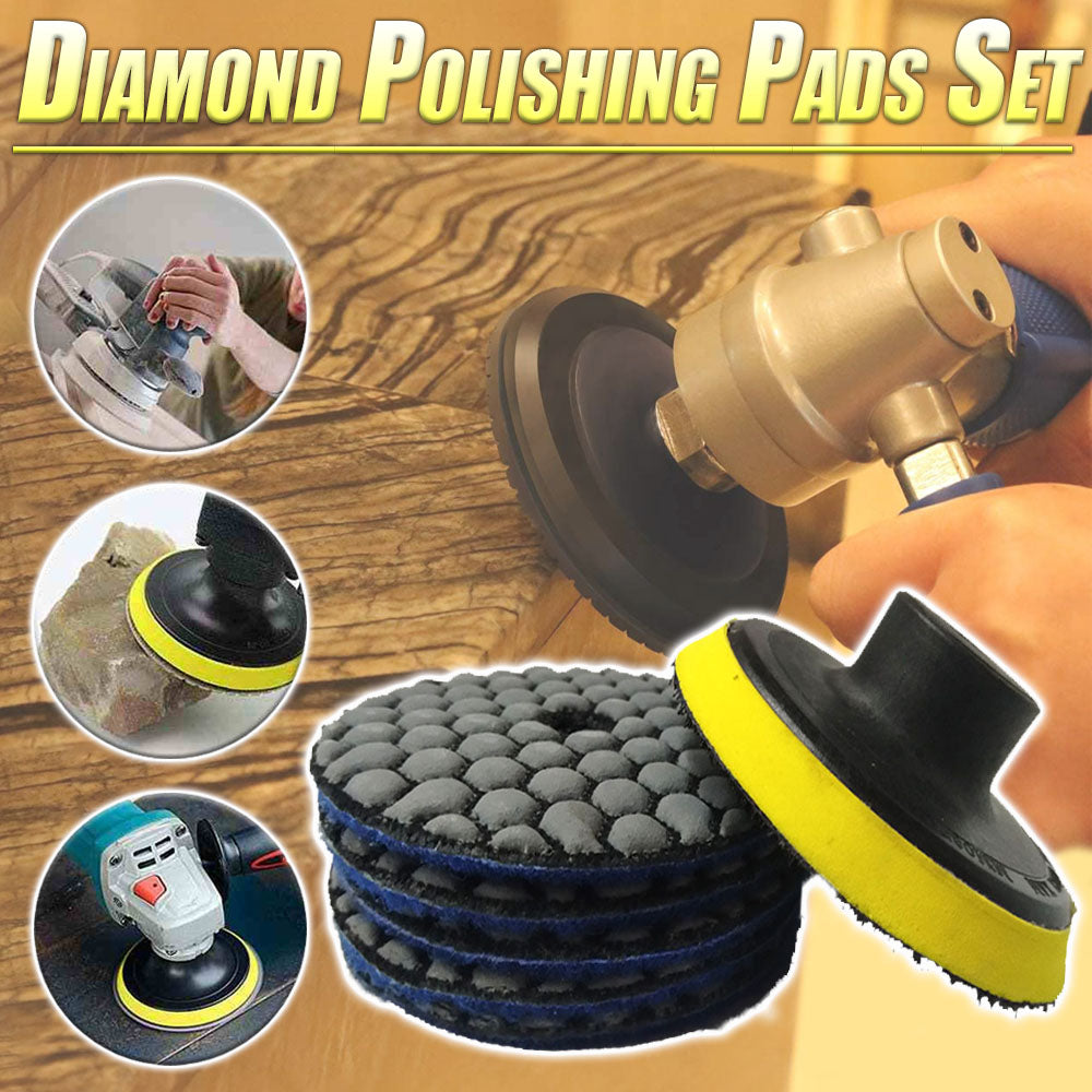 Diamond Polishing Pads Set