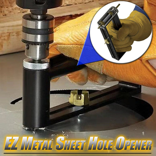 EZ Metal Sheet Hole Opener