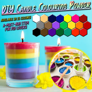 DIY Candle Colouring Powder