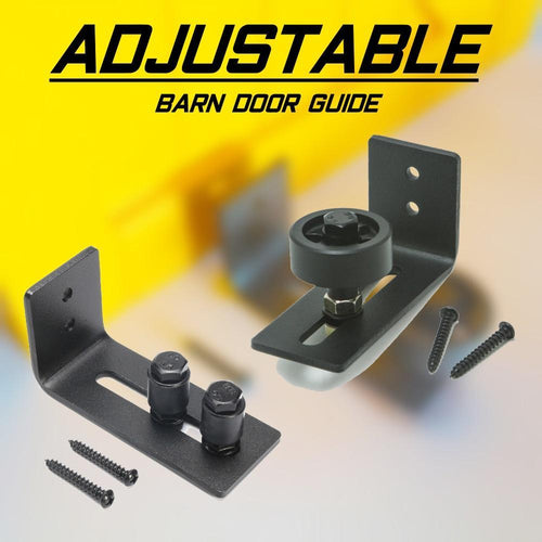 Adjustable Barn Door Guide