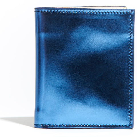 Card Wallet Blue Mirror