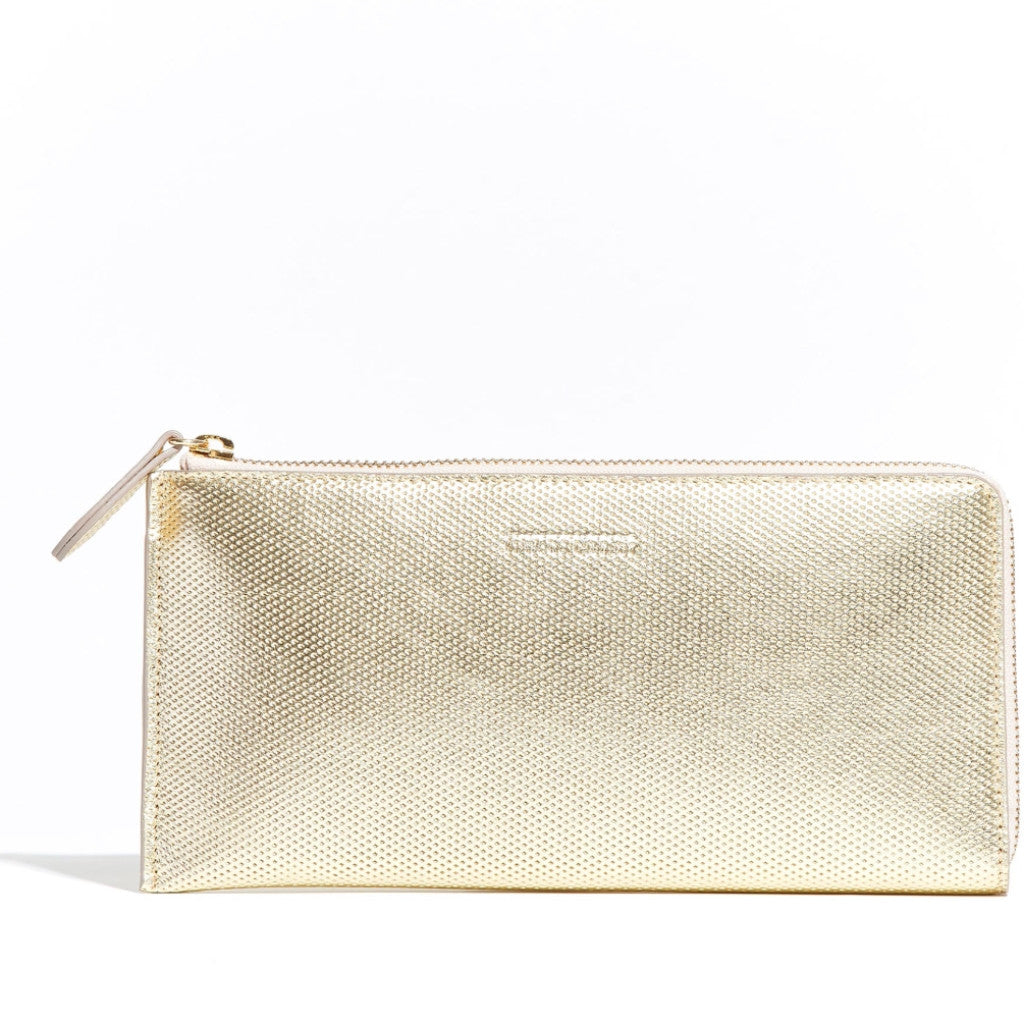 Travel Wallet Gold Diamond