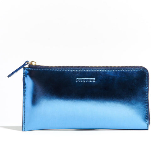 Travel Wallet Blue Mirror