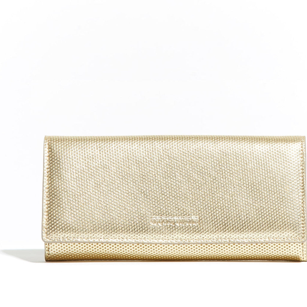 Envelope Wallet Gold Diamond