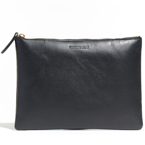 Large Zip Pouch Black