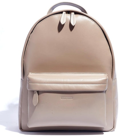 BACKPACK TAUPE COW HIDE
