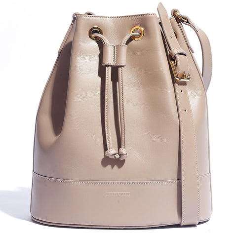 BUCKET BAG TAUPE