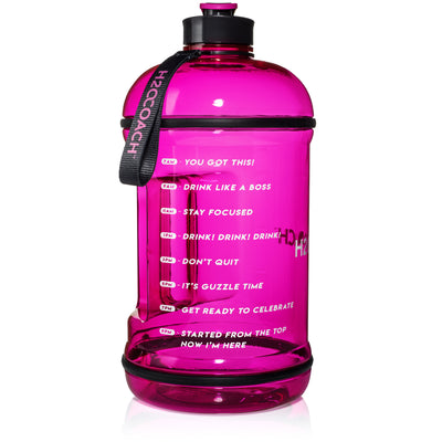 H2OCOACH - Boss Water Bottle - 1 Gallon - Pink