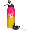 H2OCOACH - Splash Life - Stainless Steel Water Bottle 40 oz - Pink Fusion