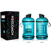 H2OCOACH - Today's Choices - Tomorrow's Body Half Gallon Water Bottle - Flip Top - 85 oz