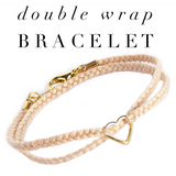 Double Wrap P.S. I Love you bracelet