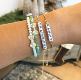 HBunnie Personalized Mantra Bracelets