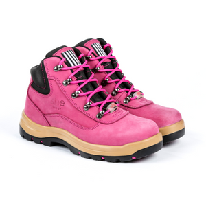 She Wear - She does women's safety work boots (hiker style)