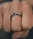 Mountain Dawn Ring