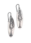 Redwood Sterling Earrings