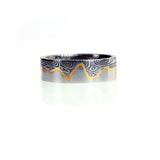 Starry Night Skyline Ring