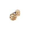Granite Gold Stud Earrings