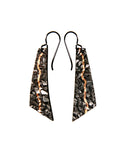 Granite Crack Flake Earrings