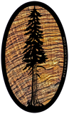 Redwood Sticker