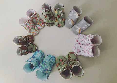 Baby High Top Booties