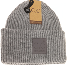 Load image into Gallery viewer, C.C. Beanie Adult-Rubber Patch