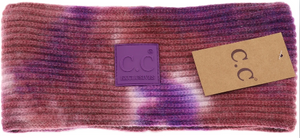 C.C. Tie Dye Head Wrap-Rubber Patch