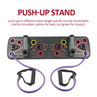 Pushup Board + Resistance Bands
