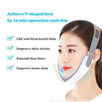 Red Light/Blue Light Electric V Face Shaper