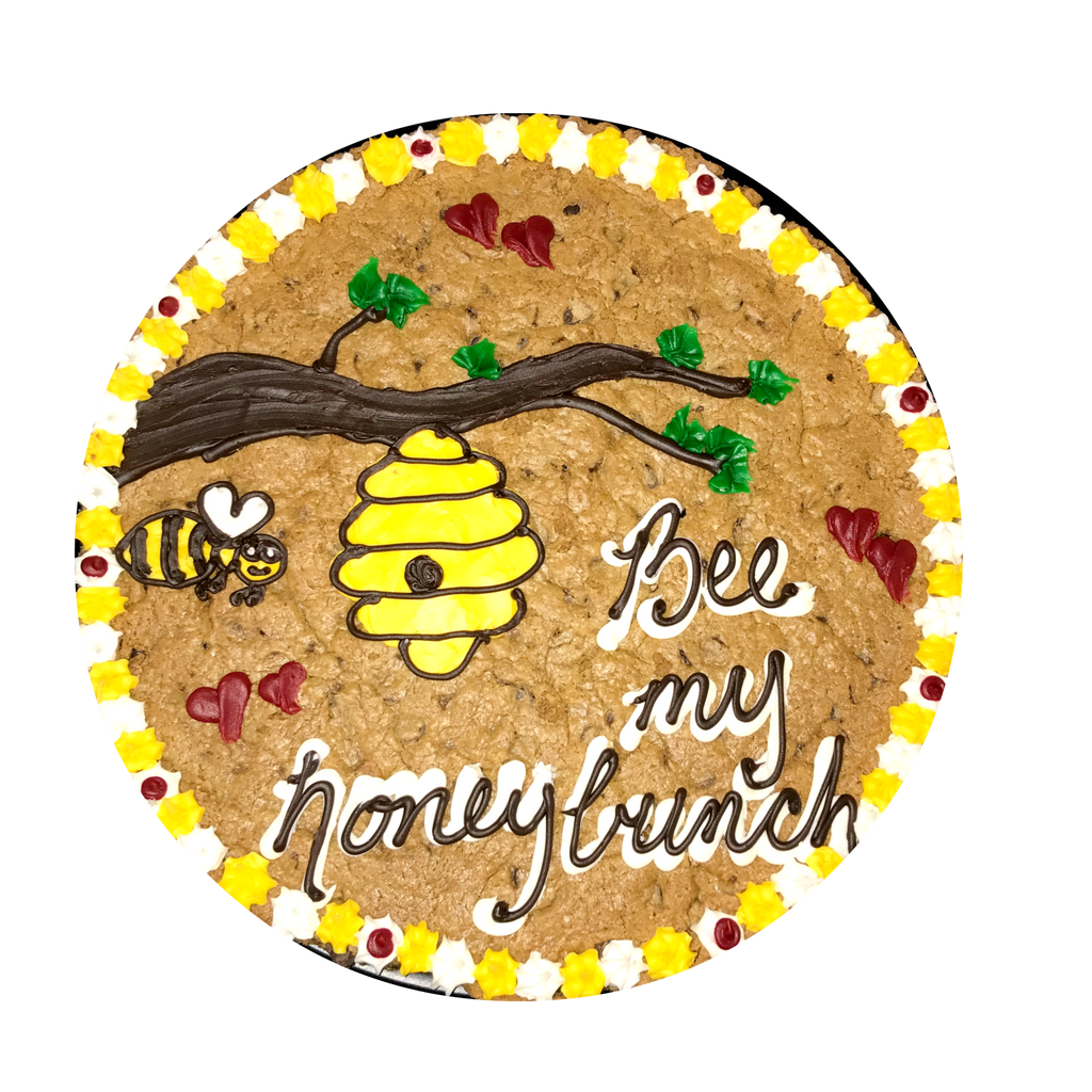 Honey Bunches of Love Custom Cookie Cake