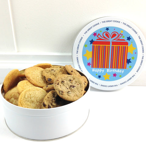 Happy Birthday Cookie Gift with 2 lbs. fresh baked cookies