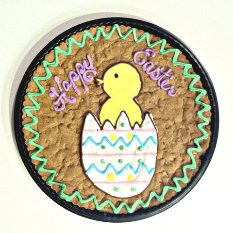 Easter Chick Cookie Cake