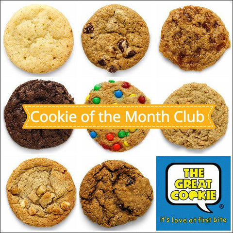 12 Month Great Cookie of the Month Club