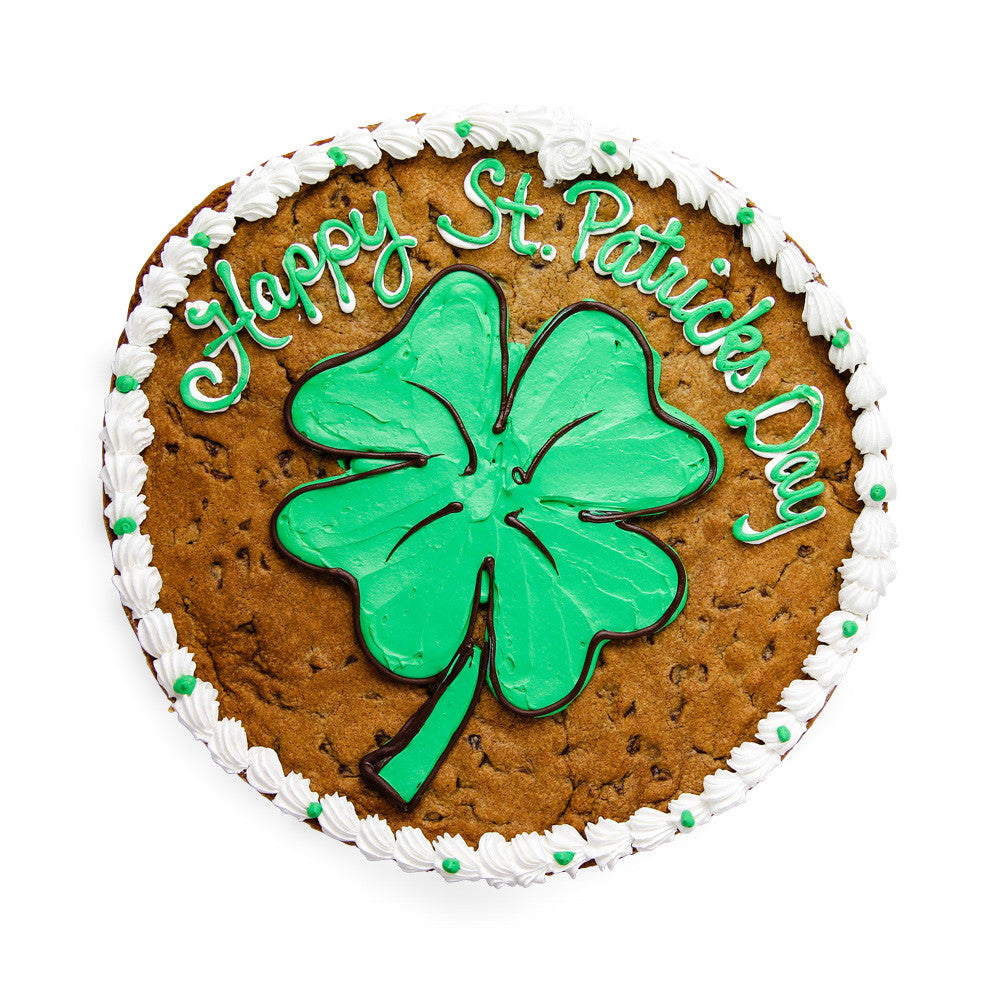 St. Patrick's Day Cookie Cake