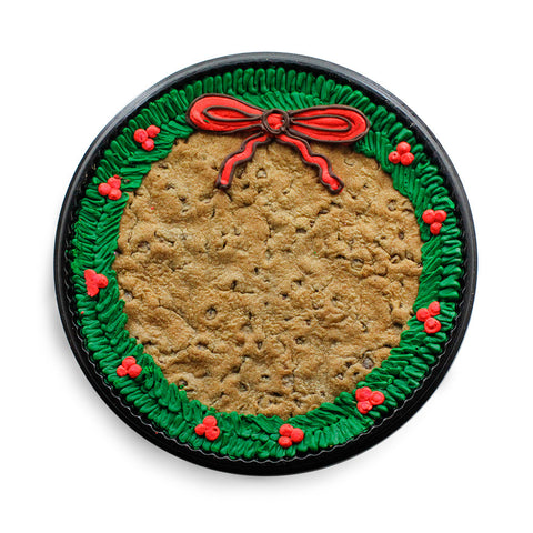 Wreath Cookie Cake