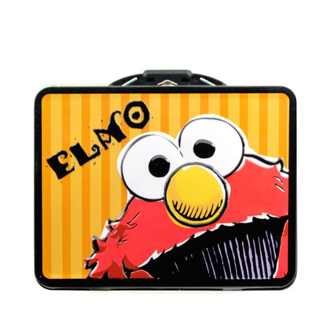Elmo Tin/ Lunchbox with 1 lb. Cookies