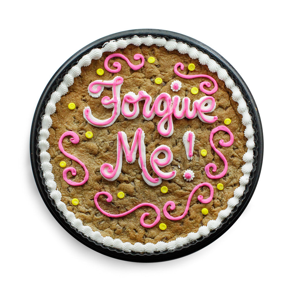 Forgive Me Cookie Cake