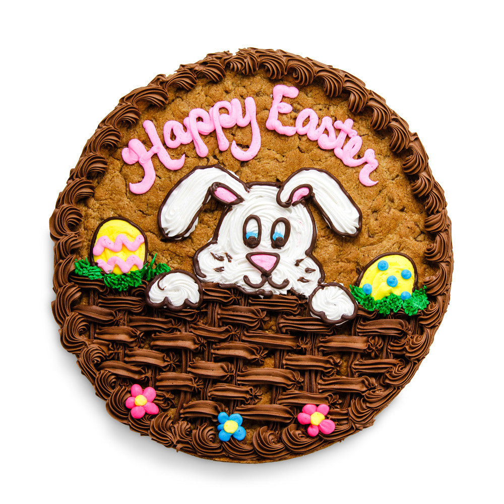 Easter Bunny Cookie Cake