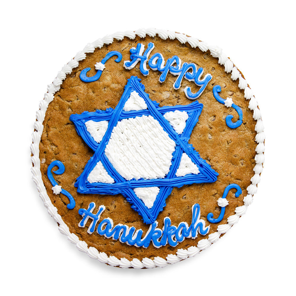 Hanukkah Cookie Cake