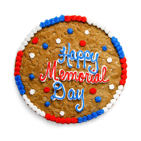 Memorial Day Cookie Cake