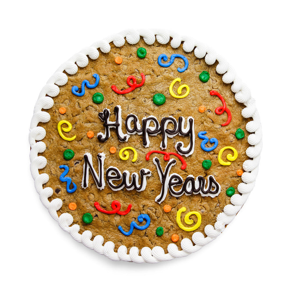 New Year's Cookie Cake