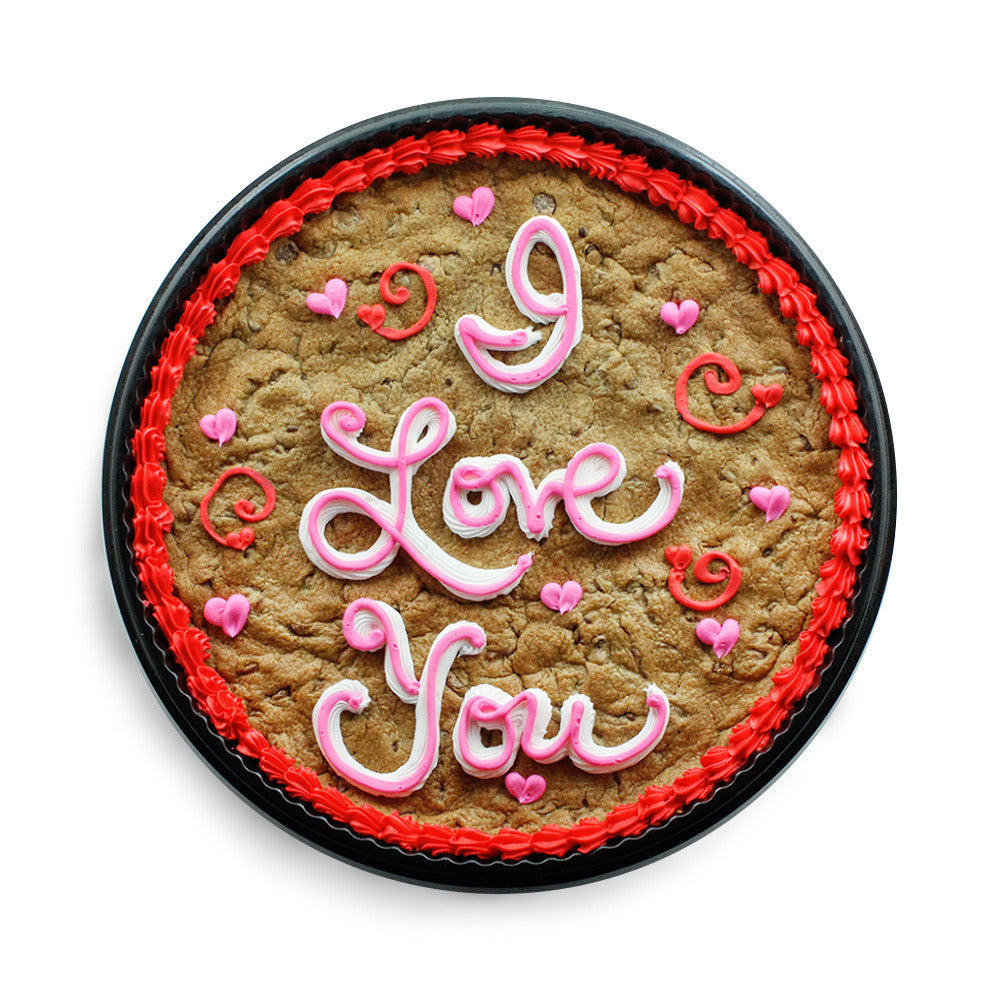 I Love You Cookie Cake Online