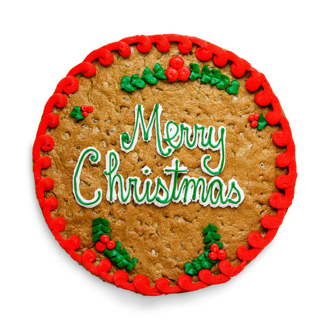 Christmas Cookie Custom Cookie Cake