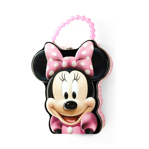 Minnie Mouse Tin Lunch box with 1lb. Cookies