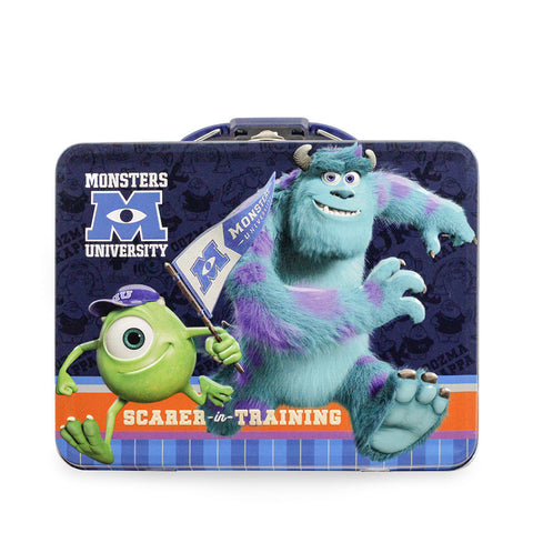 Monsters University Tin Lunch Box with 1 lb. Cookies