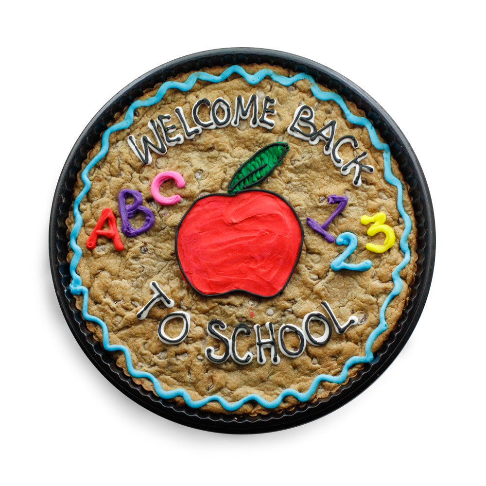 Back to School Cookie Cake
