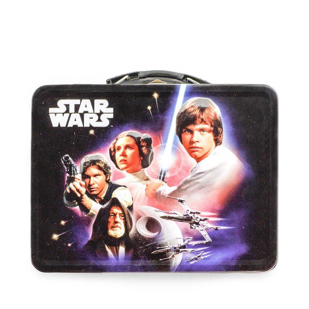 Star Wars Tin Lunchbox with 1 lb. Cookies